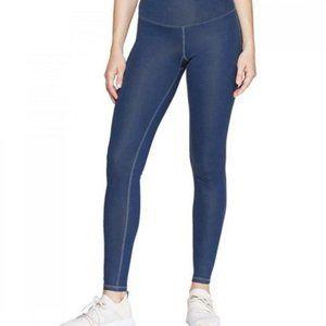 NWT $28 Champion blue slick shine leggings S